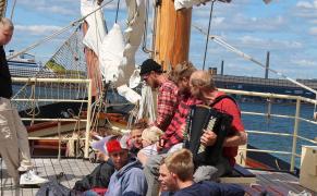 Skonnerten Jylland til Tall Ships Race 2013 Aarhus