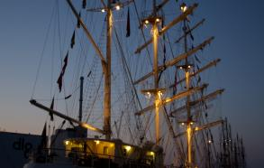 Skonnerten Jylland aften Aarhus